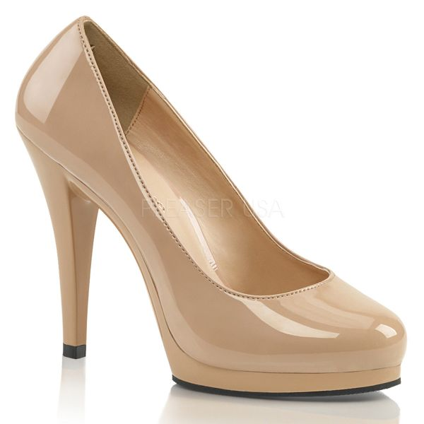 Mini Plateau Pumps nude Lack FLAIR-480